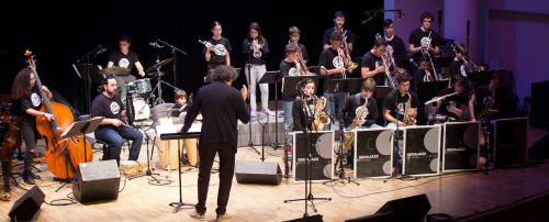 Jove Big Band Sedajazz - Grabación en directo de su primer disco
