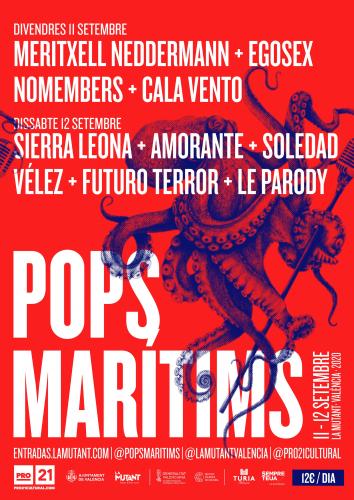 POPS MARÍTIMS 2020, 12DE SETEMBRE